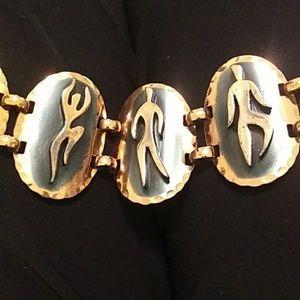 xxx Jewelry - Copper art bracelet